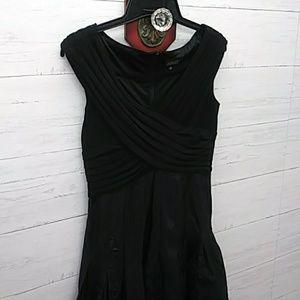 Womems Adrianna Papell Stunning LBD Dress Sz 12